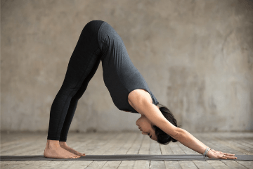 how to practice the downward facing dog stepstep