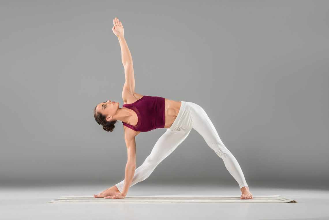 Image result for extended triangle pose yoga