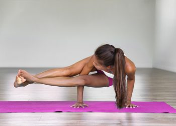 How to Do the Eight-Angle Pose