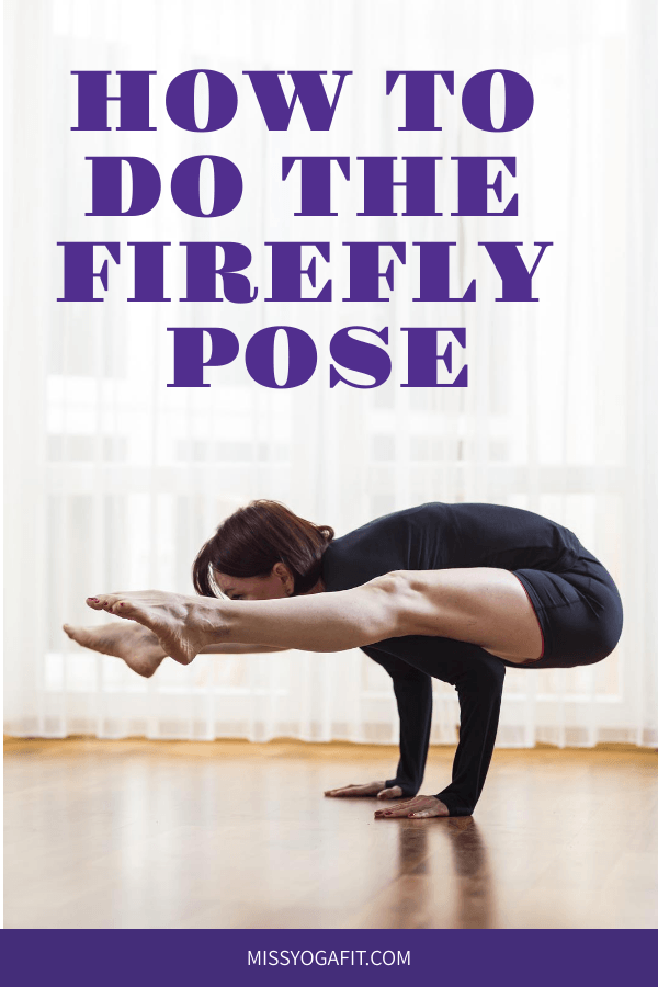 How to practice the firefly pose