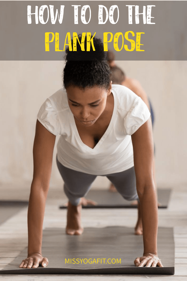 How to do the plank pose