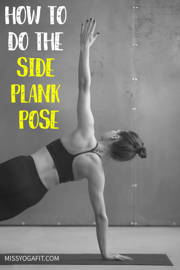 the side plank pose